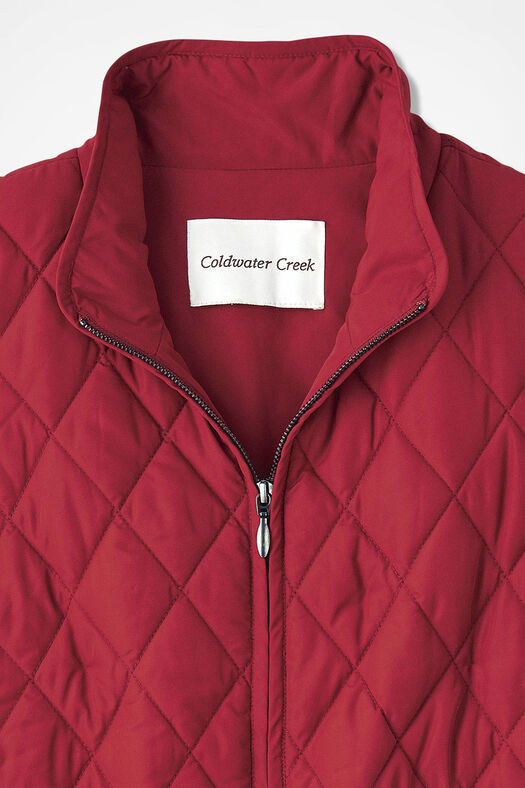 Vest for All Seasons, Fresh Red, large