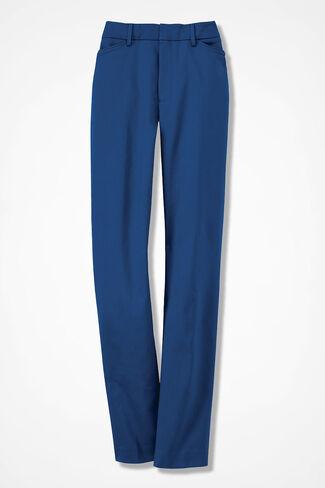 Modern Microfiber Pants, Lapis, large