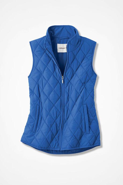 Vest for All Seasons, Cobalt, large