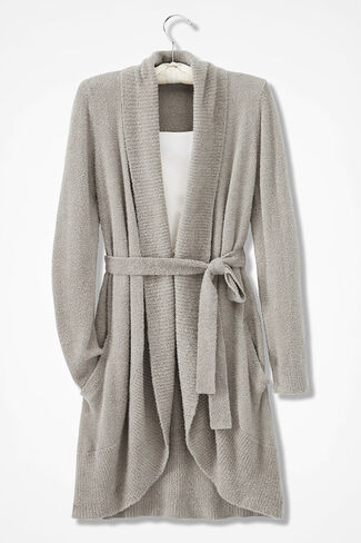 Nirvana Robe, Soft Taupe, large