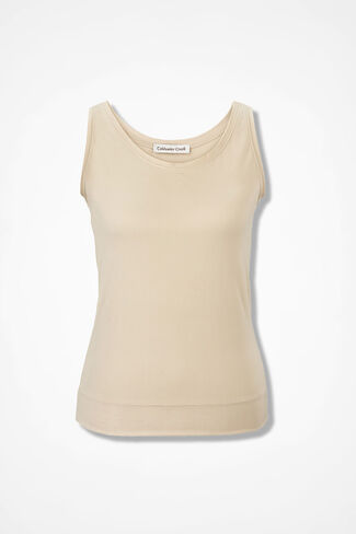 ShapeMe™ Stretch Camisole, Nude, large