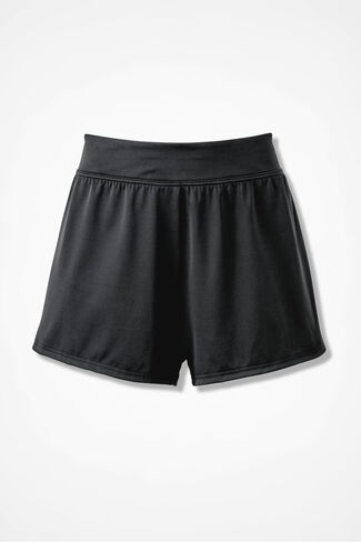 Swim Shorts, Black, large