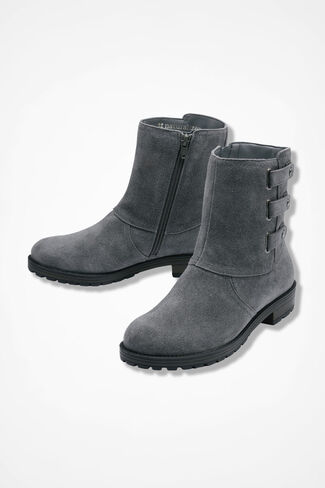 """Tynner"" Boots by Naturalizer®, Grey, large"