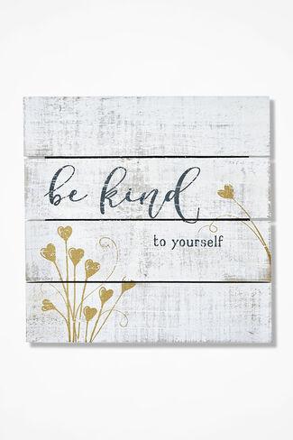"""Be Kind"" Sign, Ivory, large"