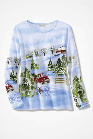 Holiday Nostalgia Tee, Multi, large