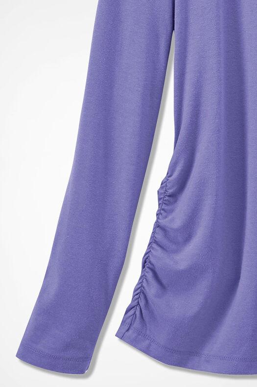 PrimaKnit® Turtleneck, Dahlia Purple, large