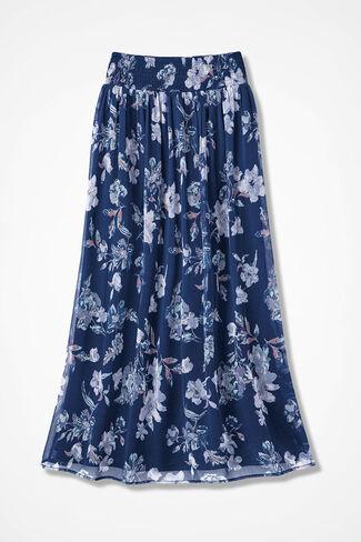 b05f7b5e3c7 Catalina Crinkle Chiffon Maxi Skirt