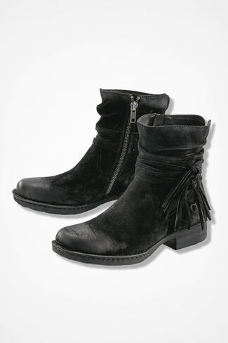 """Cross"" Boots by Born®, Black, large"