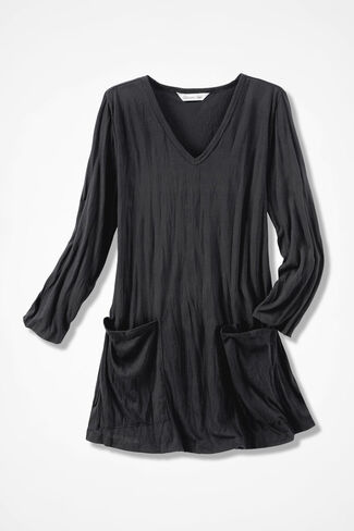 Twist-n-Wear Tunic, Black, large