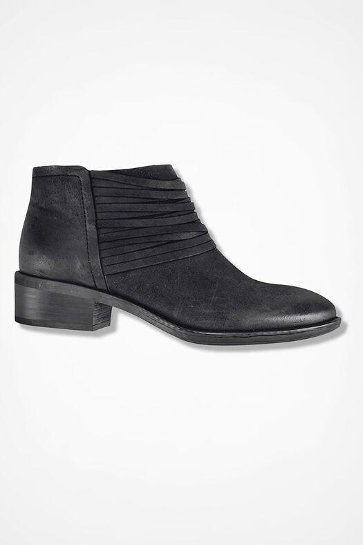"""""""Corliss"""" Suede Boots by Comfortiva®, Black, large"""