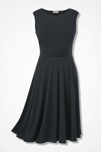 Party of Two Dress, Black, large