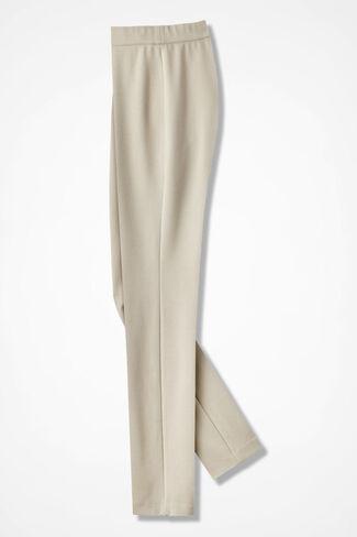Ponte Perfect® Slim-Leg Leggings, Alabaster, large
