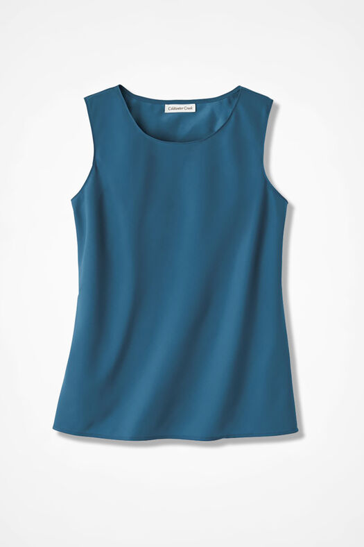 Do-It- All Sleeveless Shell, Peacock, large
