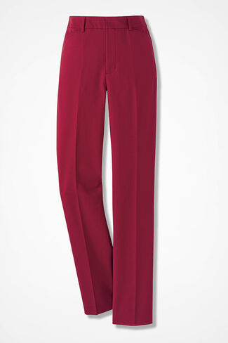 Modern Microfiber Pants, Dover Red, large