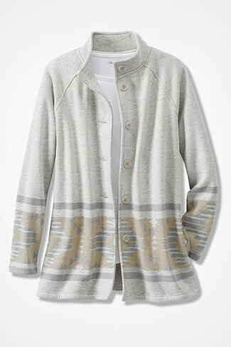 Desert Daybreak Fleece Jacket, Multi, large