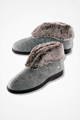 """""""Chinchilla"""" Bootie by Acorn®, Grey, large"""