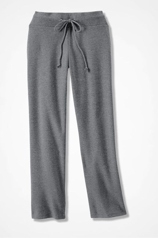 Essential Supima® Crops, Mid Heather Grey, large