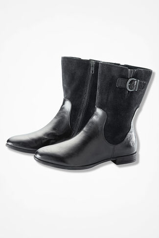"""Elma"" Boots by Born®, Black, large"