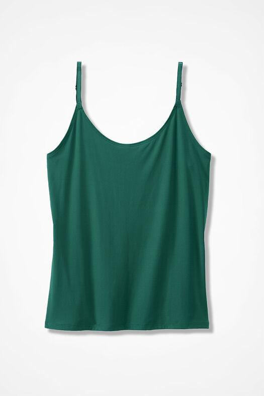 Essential Camisole, Emerald, large