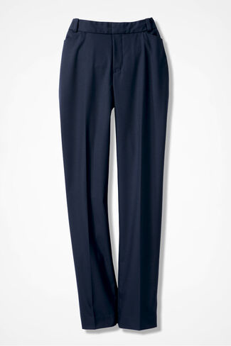 The Curvy ShapeMe® Studio Pant®, Navy, large