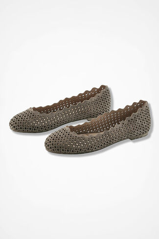 """Carlee"" Flats by Me Too®, Desert Taupe, large"