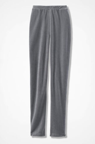 Velour du Jour Leggings, Graphite, large