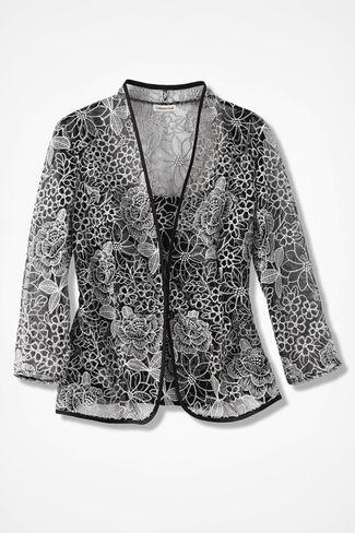 Moondance Jacket Set, Black, large