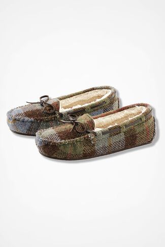 """Horizon"" Moccasins by Walk With Me™, Brown Multi, large"