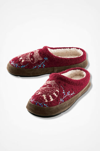 """""""Forest"""" Mules by Acorn®, Red, large"""
