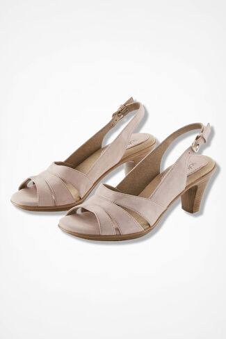 """Neima"" Slingbacks by Softspots®, Blush, large"