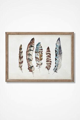 Feather Arts Print, Multi, large