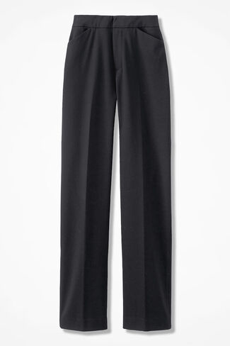 The Stretch Flannel Gallery Pant, Black, large