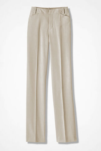 The ShapeMe® Studio Pant®, Sand Khaki, large