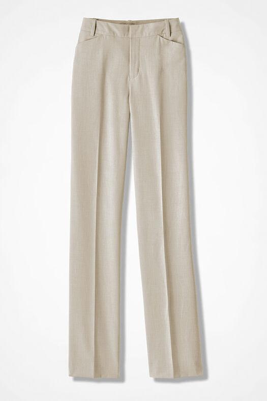 The ShapeMe® Studio Pant®, Sand Khaki, large