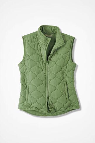 Vest for All Seasons, Leaf Green, large