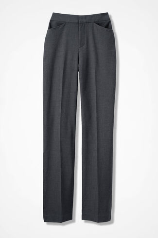 The Bi-Stretch Gallery Pant, Heather Grey, large