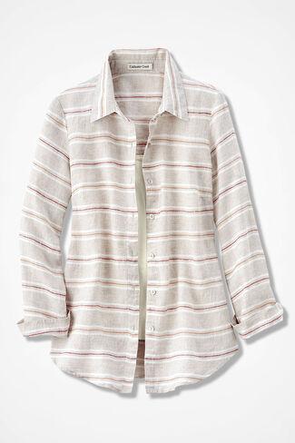 f89df23fd77 Bayside Striped Linen Tunic