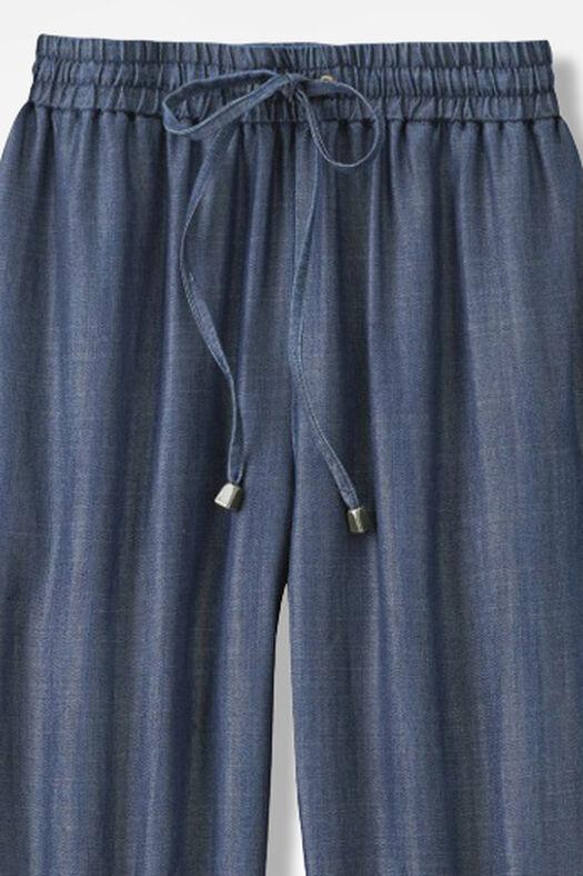 Easy Everyday Tencel® Pants, Medium Wash, large
