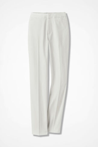 The CottonLuxe® Gallery Pant, Ivory, large