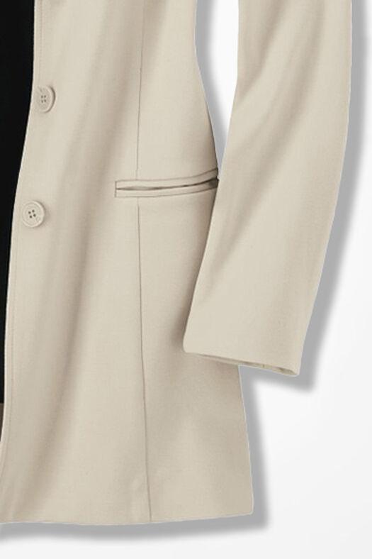 New Ponte Perfect® Boyfriend Jacket, Alabaster, large