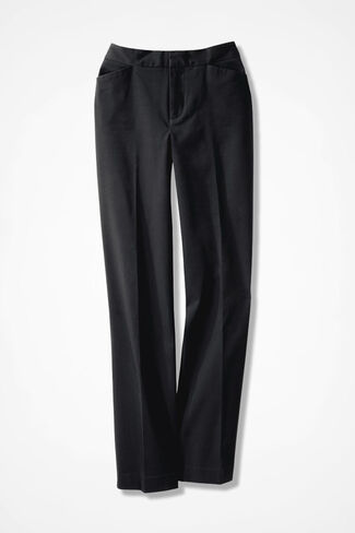 The CottonLuxe® Gallery Pant, Black, large