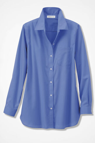 Anytime Easy Care Tunic, French Blue, large