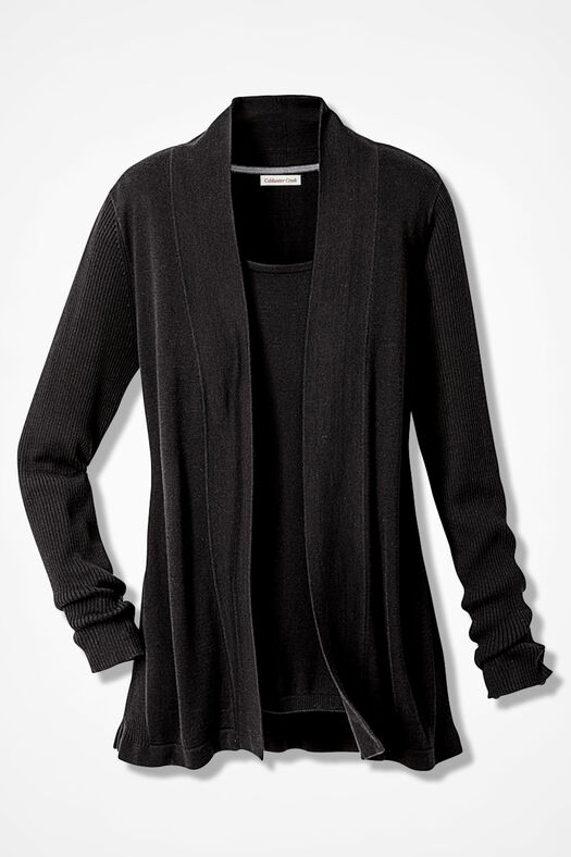 749f4813ad84 Classic Open Front Cardigan - Coldwater Creek