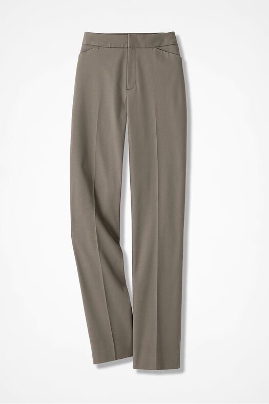 The CottonLuxe® Gallery Pant, Desert Taupe, large
