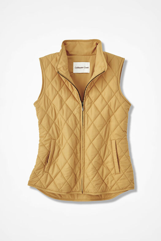 Vest for All Seasons, Saffron, large