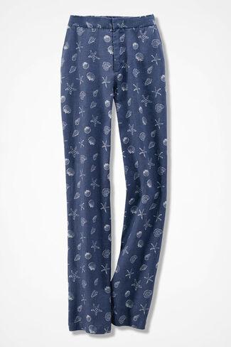 Seashell Linen Pants, Ranch Blue, large