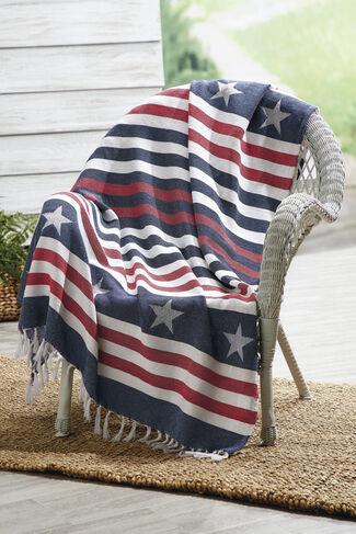 American Spirit Throw, Multi, large