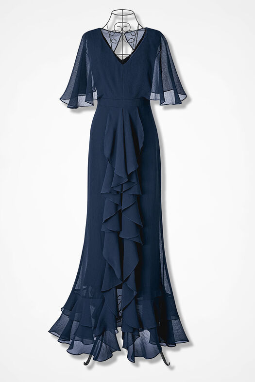 0c11ccd9d3 Encore of Ruffles Dress - Coldwater Creek