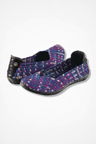 """Catwalk"" Slip-Ons by Bernie Mev®, Purple Grey Ombre, large"