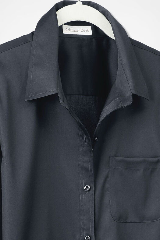 Anytime Easy Care Tunic, Black, large